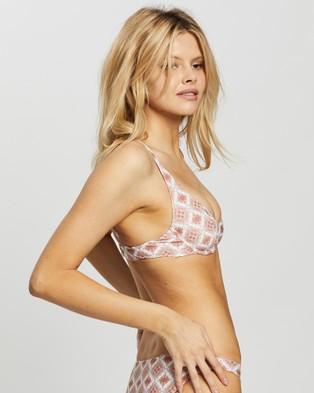 Rusty Persian Nights Underwire Bikini Top - Bikini Tops (Coral Blush)