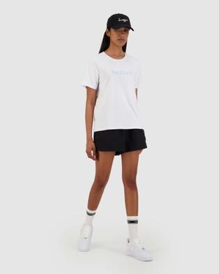 Huffer Women's Stella Tee Pitch - T-Shirts & Singlets (White)