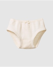 Nature Baby - Pointelle Underpants - Kids
