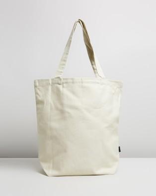 Patagonia - Market Tote - Bags (P-6 Logo: Bleached Stone) Market Tote