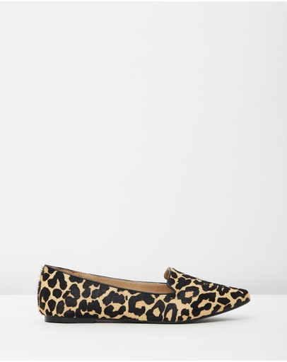 Atmos&Here - Natalya Leather Flats