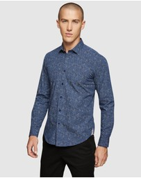 Oxford - Kenton Printed Shirt