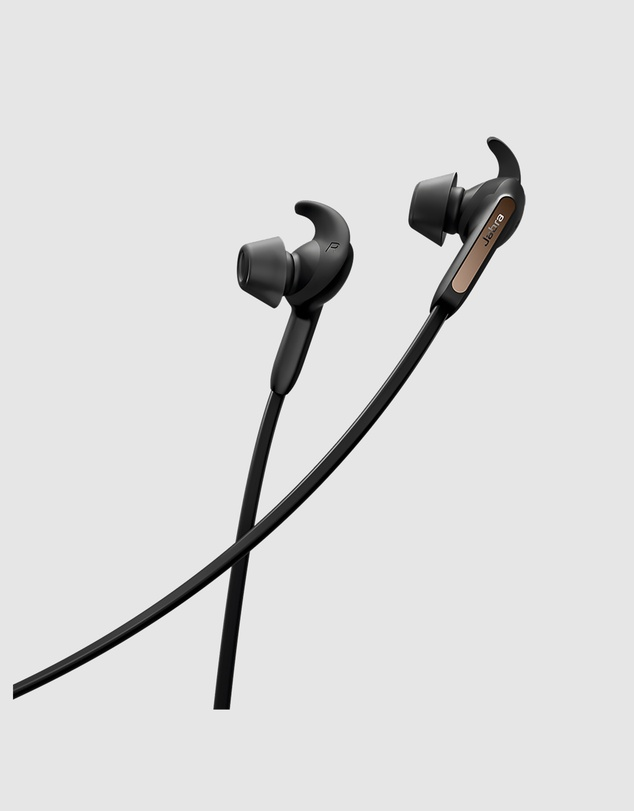 Jabra - Jabra Elite 65e Wireless Headphones Copper Black
