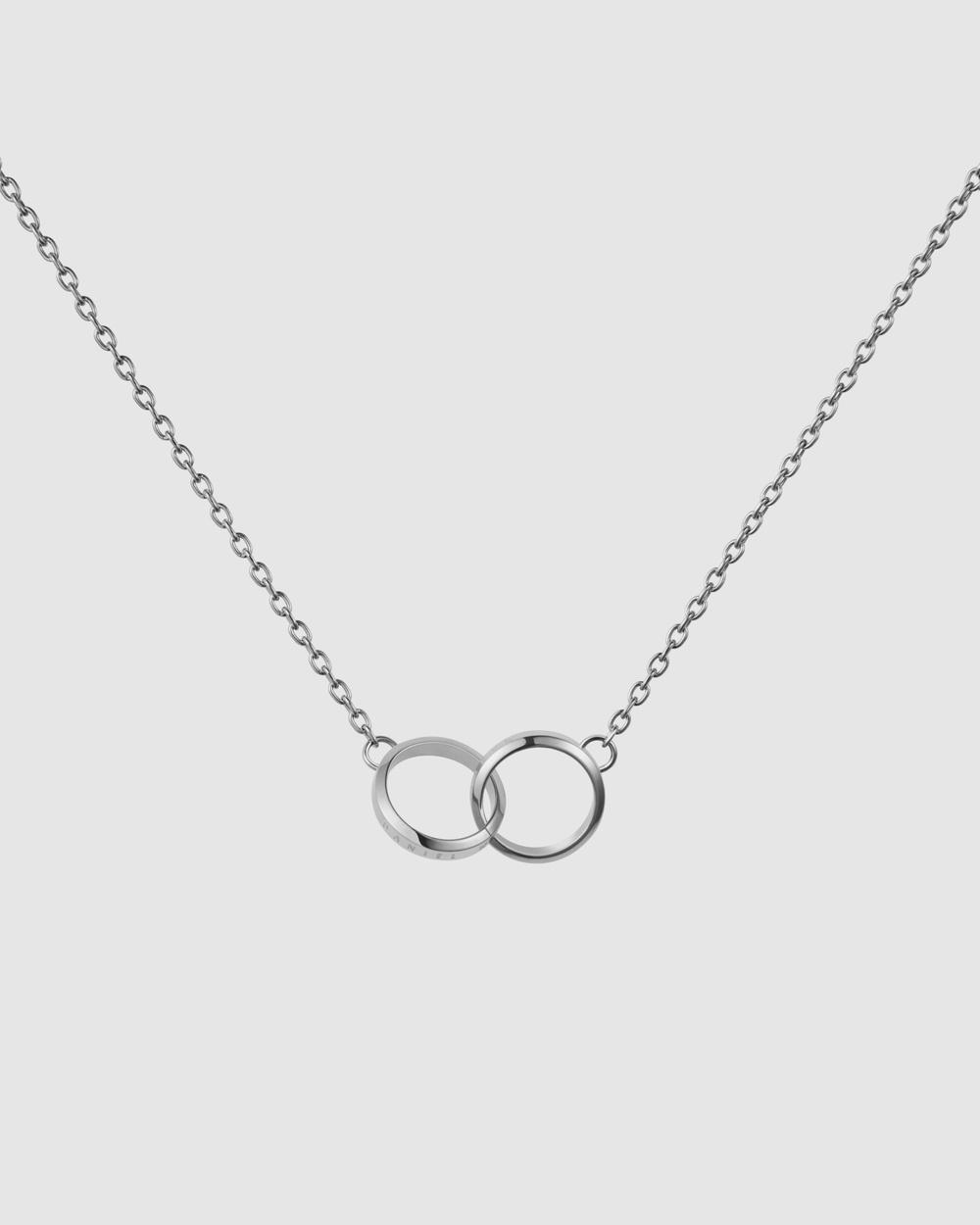 Daniel Wellington Elan Unity Necklace Jewellery Silver