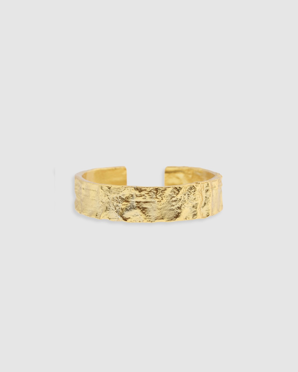 Arms Of Eve Eros Gold Textured Ring Medium Jewellery Gold