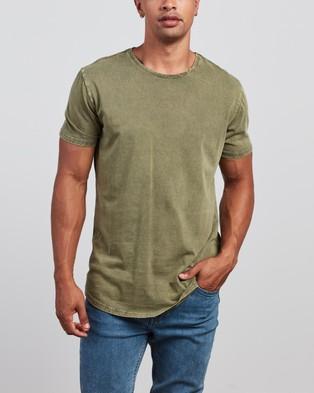 Silent Theory - Acid Tail Tee 3 Pack - T-Shirts & Singlets (Navy, Burgundy & Khaki) Acid Tail Tee 3-Pack