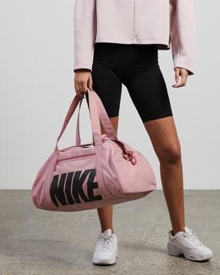 Nike Gym Club Bag   Women's - Duffle Bags (Desert Berry & Black)