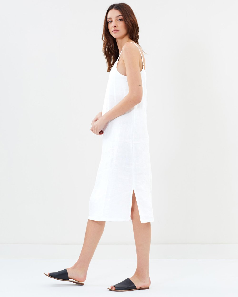 b771bb80349 Linen Slip Dress by Assembly Label Online