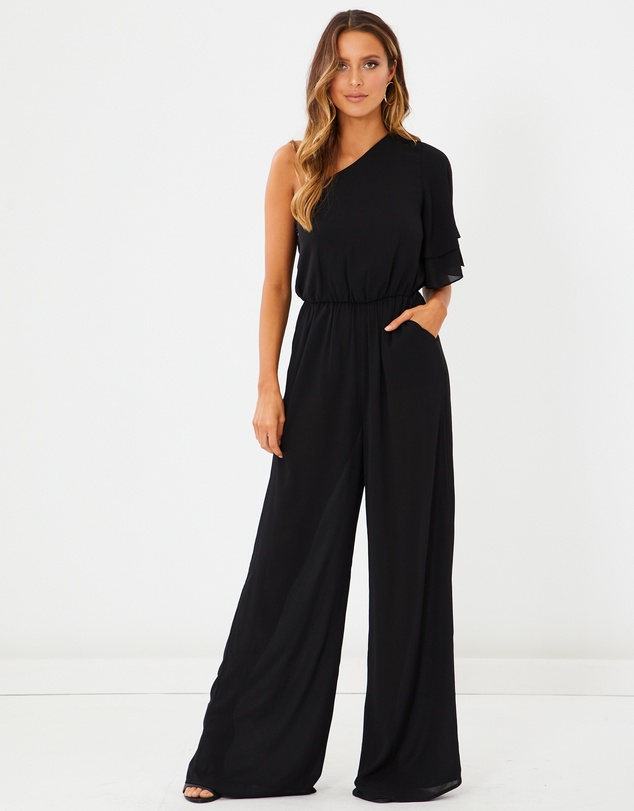Calli - Karina One-shoulder Jumpsuit