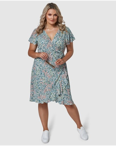 Indigo Tonic - Tabitha Wrap Dress