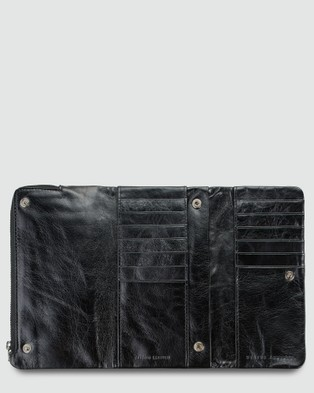 Status Anxiety Audrey   Trifold Wallet - Wallets (Black)
