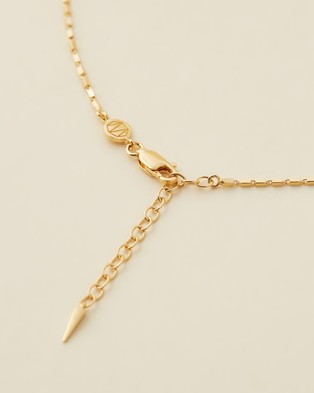 Missoma - Box Chain Necklace - Jewellery (18ct Gold Vermeil on Sterling Silver) Box Chain Necklace