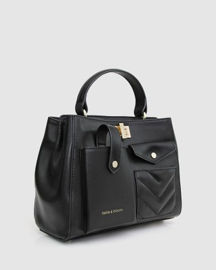 Belle & Bloom All Or Nothing Satchel - Satchels (Black)