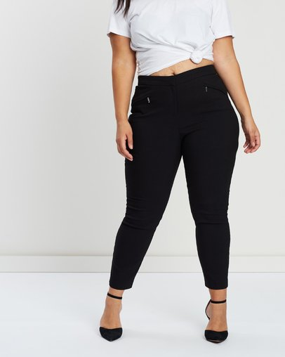 Skinny Lost Australia Seam Trousers Ink By The Online Plus Iconic rwrSqxa