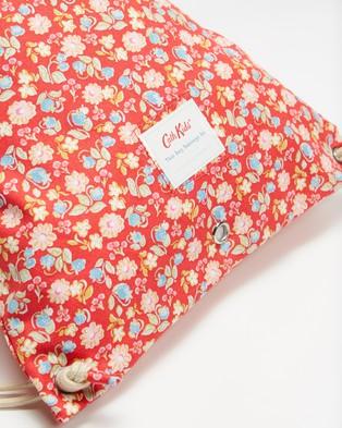 Cath Kidston Drawstring Bag   Kids - Backpacks (Mini Strawberries and Flowers)