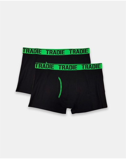 TRADIE - Tradie Big Fella 2pk Manfront Trunks