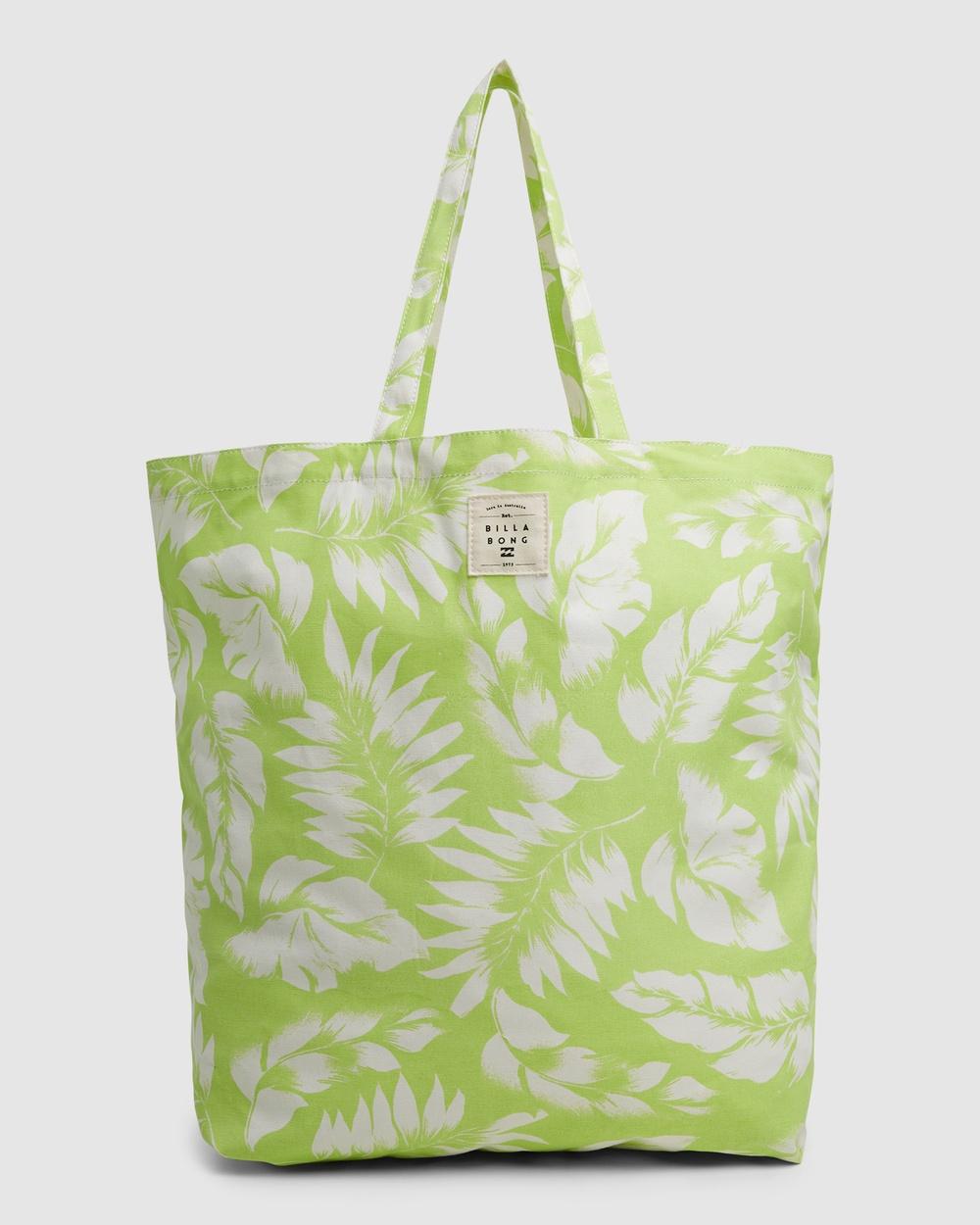 Billabong Summer Fun Carry Bag Beach Bags LIME