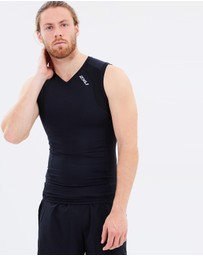 2XU - Men's Compression Sleeveless Top