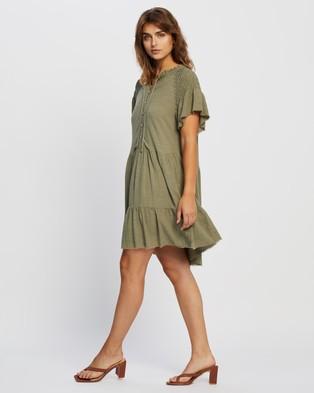 Atmos&Here Harper Mini Dress - Dresses (Khaki)