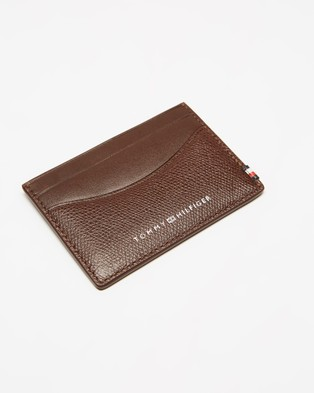 Tommy Hilfiger Mini Business Cardholder - Wallets (Chestnut)
