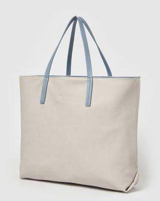 Urban Originals Flipside Tote - Handbags (Blue/Grey)