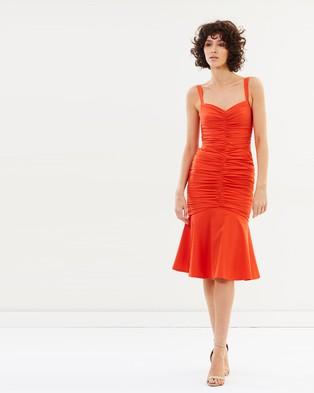 Rebecca Vallance – Brescia Midi Dress – Bodycon Dresses Tangello