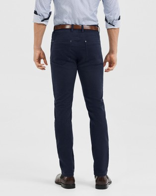 Tarocash Ultimate Slim Chino - Pants (NAVY)