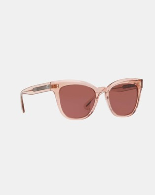 Oliver Peoples Marianela - Square (Pink & Burgundy Gold)