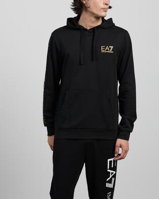 Emporio Armani EA7 - Hoodie Sweatshirt Hoodies (Black)