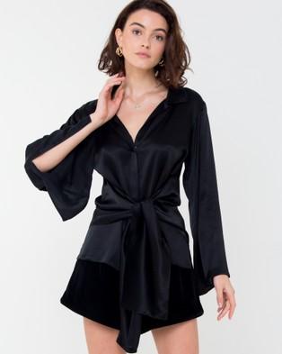 Carver – Elle Shirt Black