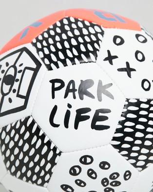 Park PARK Soccer Ball - Training Equipment (Neon Orange)