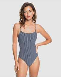 Roxy - Womens Printed Beach Classics One Piece Swimsuit