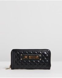 LOVE MOSCHINO - Quilted Wallet