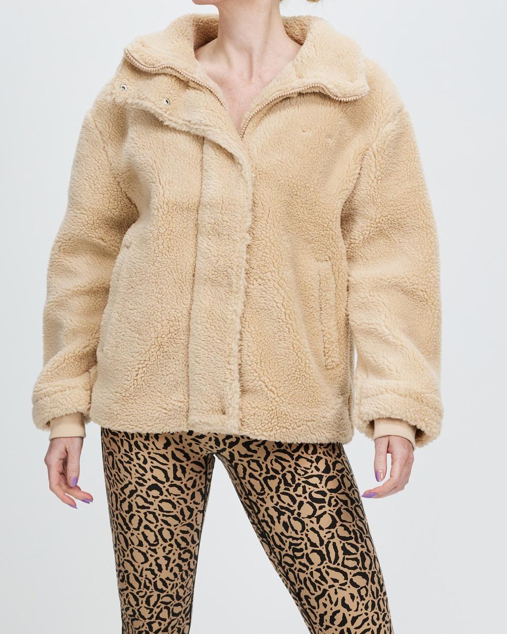 The Upside Aspen Jacket Coats & Jackets Hazelnut
