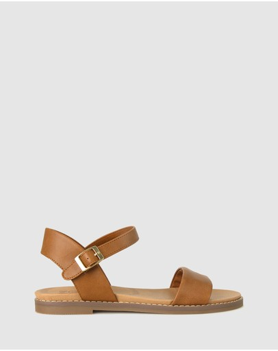 Zeroe - Wide Fit Atlas Footbed Sandals