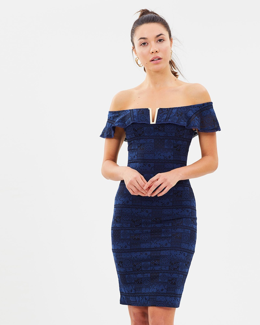 Fresh Soul Navy Temptation Dress