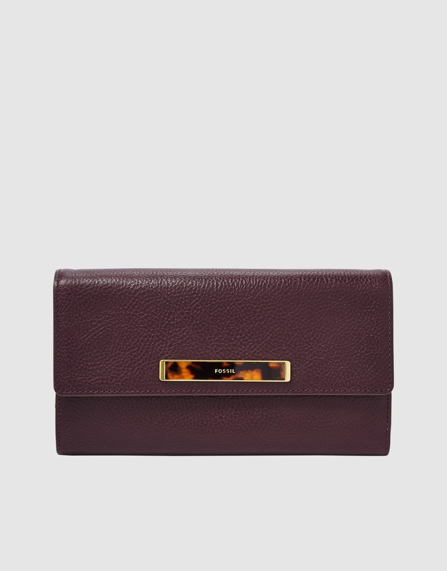 Fossil - Blake Fig Large RFID Wallet