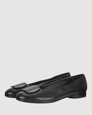 ECCO Anine Women's Ballet Flats - Ballet Flats (Black)