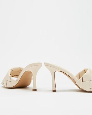 Dazie - Tawny Heels Mid-low heels (Cream Smooth)