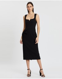 Rebecca Vallance - Galerie Bow Midi Dress