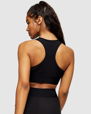 TOPSHOP Active Sports Bra - Cropped tops (Black)