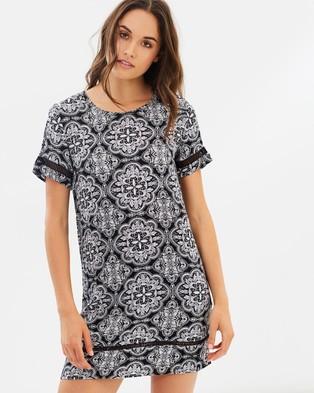 Volcom – Even More Tee Dress – Dresses Vintage Black