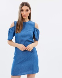 Dorothy Perkins - Cold Shoulder Tunic Dress