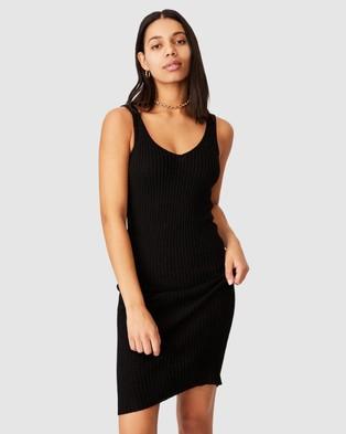 Cotton On Match Me Midi Dress - Bodycon Dresses (Black)