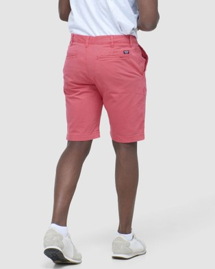 Superdry International Chino Short - Chino Shorts (Maldive Pink)