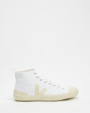 Veja Nova High Top   Men's - Sneakers (White & Pierre)