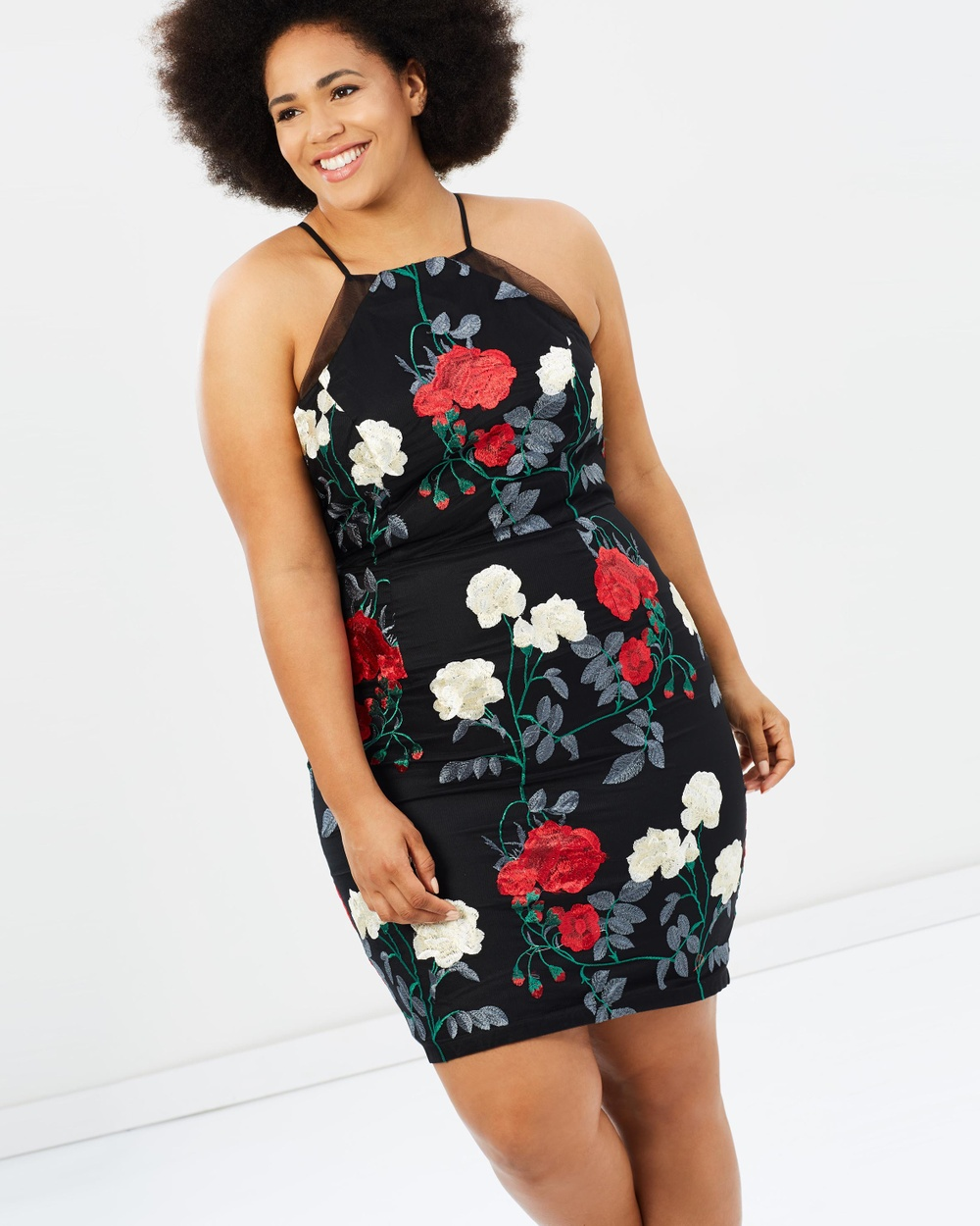 Chi Chi Curve Robin Dress Dresses Black Robin Dress