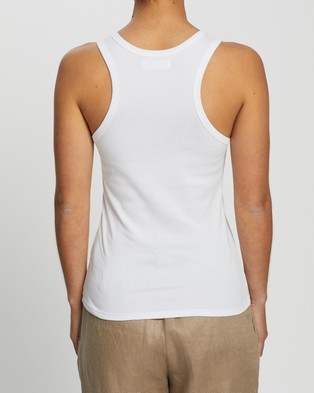 Assembly Label Kai Rib Tank - T-Shirts & Singlets (White)