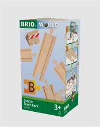 BRIO - Starter Track Pack B 13 Pieces
