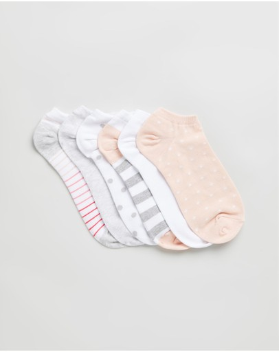 LOVE By GAP Body - 6-Pack Ankle Socks